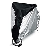 Outdoor Bicycle Cover S Size Waterproof Dust Wind Proof Bike Cover with Lock Hole for Road Bike Mountain Bike