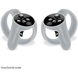 Set of 2 - Peau de contrôleur de Contact de GelShell de Caisse de Silicone pour Oculus Rift Contrôleur Silicone Protection Covers, Blanc