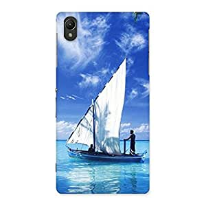 Special Boat Guy Back Case Cover for Sony Xperia Z2