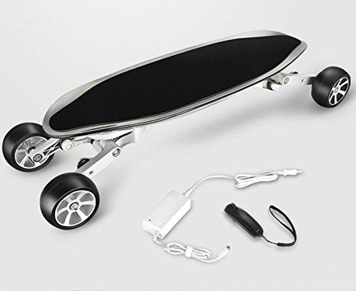 Skateboard électrique EcoRider en Fibre de Carbone – 40km autonomie – vitesse 25km/h [Garantie...