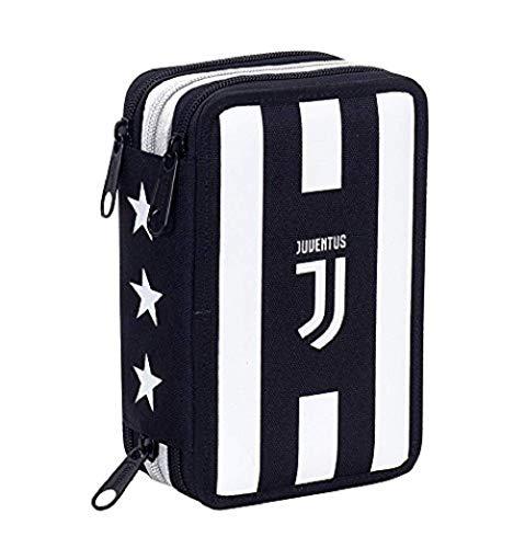 Juventus astuccio 3 zip completo prodotto ufficiale