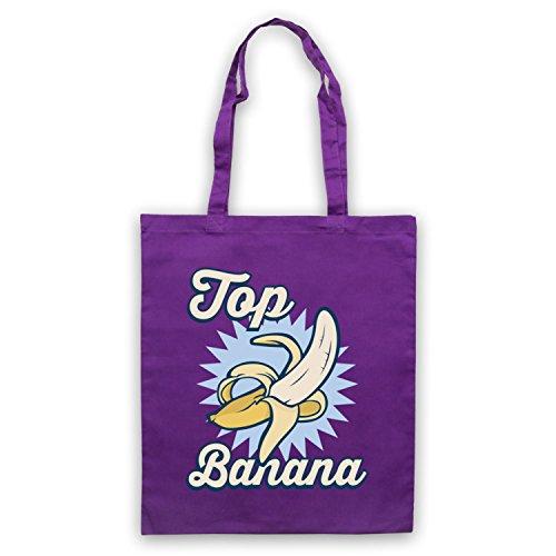 Top Banana Funny Umhangetaschen Violett