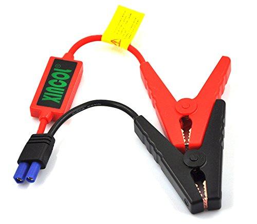 Pinzas para batería de coche SM600 de Xincol, pinzas tipo cocodrilo, conector EC5 de emergencia