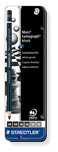 staedtler-100b-g6-mars-lumograph-matita-nero