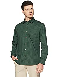 Ruggers Men's Printed Regular Fit Casual Shirt