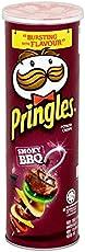 Pringles Potato Chips, Barbeque, 150 grams