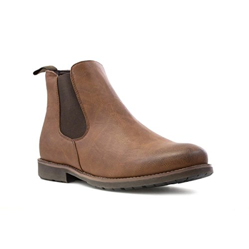 Beckett Mens Tan Chelsea Boot - Size 11 UK - Brown