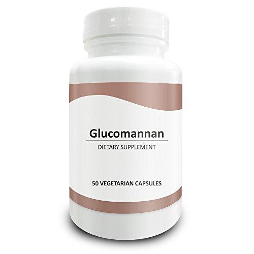 Pure Science Konjac Glucomannan Root 700mg - 95% standardisierter Extrakt - 50 vegetarische Kapseln -