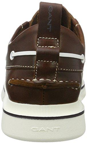 Gant Dennis, Chaussures Bateau Homme Marron (Cognac)