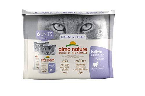 almo nature Daily Fonctionnelle Multipack Sensitive-Complete Wet Cat Nourriture (6x 70g)