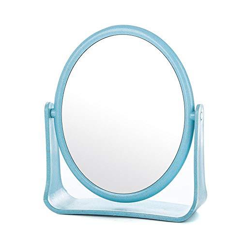 Rtuyk Kosmetikspiegel Mit licht Kosmetikspiegel Schminkspiegel Hohe Liste Gesicht Kosmetikspiegel einfache Desktop-Kosmetikspiegel Falten tragbar