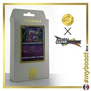 Cresselia 59/156 Holo - #myboost X Soleil & Lune 5 Ultra-Prisme - Box de 10 Cartas Pokémon Francés