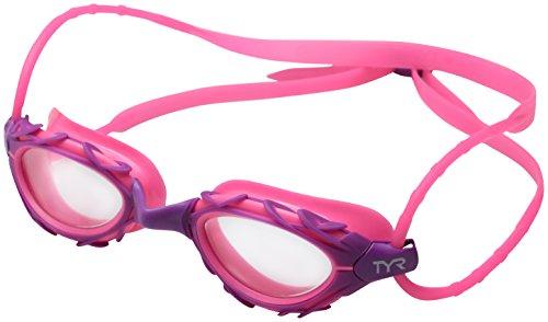 TYR Nest Pro Nano Goggle, Pink Purple, one size (Pnk Nano)