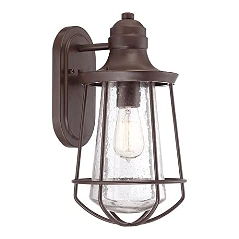 'Harbour Master' Outdoor Wall Lantern in Aged Bronze