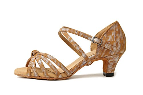 Minitoo Danse de Salon femme Dark Brown-4.8cm Heel