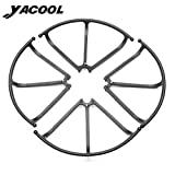 Yacool ® 4 Pieces Protective Cases for JJRC H8C H8D RC Quadcopter Drone - Black by Yacool