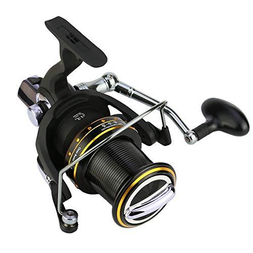 Yamyannie-Fishing Führungsstange Struktur Long Throw Rad Große 14-achsige Spinnrolle Angelschnur Angeln Rad Angeln Wheel Reel Spinning Angelrollen (Größe : 8000) -