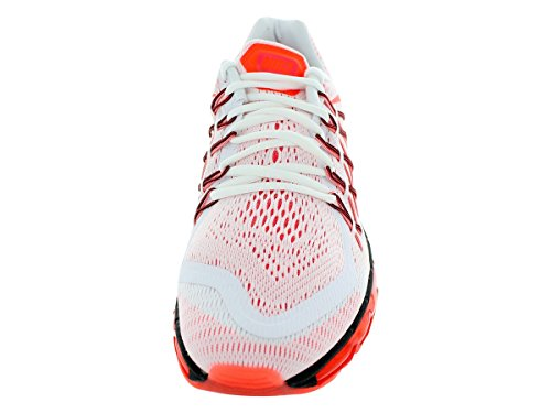 Chaussures De Course À Pied Nike Air Max 2015, Blanc / Brillant Crimson / Noir Pour Homme