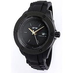 ene watch Mod. 107-42 - Damenuhr Armbanduhr Analoguhr mit Silikon Band ene-21752