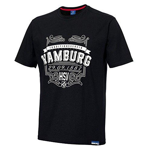 """Herren T-Shirt """"Gründung"""" Hamburger SV HSV Gr 3XL"""