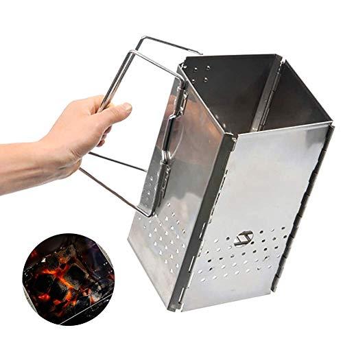 GYFHMY Charcoal Chimney Starter Grill Encendedor Cesta