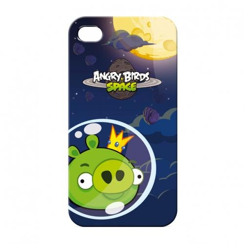 Gear4 ICAS418G Angry Birds Space King Pig Schutzhülle für Apple iPhone 4/4S Angry Birds Iphone