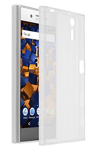 mumbi UltraSlim Hülle für Sony Xperia XZ / XZs Schutzhülle transparent (Ultra Slim - 0.70 mm)