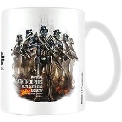 Star Wars Rogue una muerte Trooper perfil taza de cerámica, multicolor