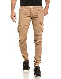 Gov Denim - Pantalon Joggpant léger homme beige