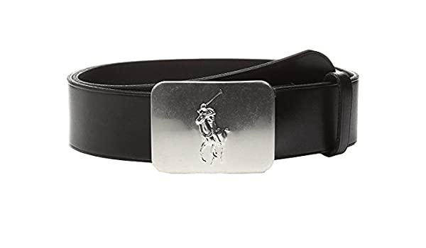 a6a2ca39d2 Polo Ralph Lauren Pony Plaque Leather Belt: Amazon.co.uk: Clothing