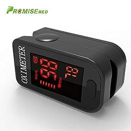 Monitor ossigeno per dito, pulsossimetro Monitor saturazione ossigeno Spo2 per pulsossimetro adulto e bambino con…