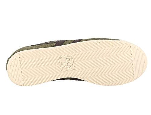 Gola Herren Bullet Suede Sneaker Light Khaki/Brown