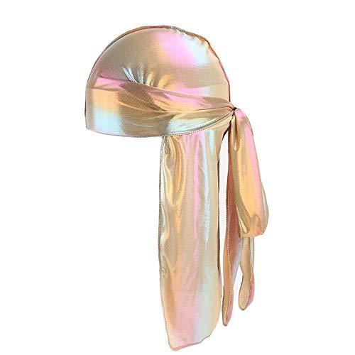 SMILEQ Ausverkauf Mädchen Damen Frauen Warm Winter Männer/Frauen Silk Polyester Bandana Hut Durag Rag Tail Headwrap Headwear Geschenk (One Size, F)