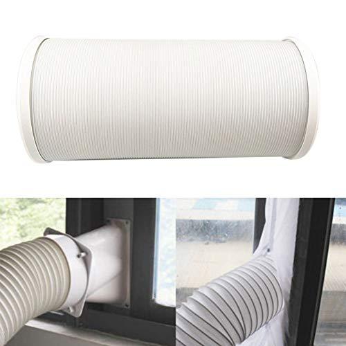 flexibel Abluftschlauch Luftschlauch für mobile Klimageräte/counterclockwise installation direction, erweiterbares Design, universell(15cm Durchmesser,2m Länge)
