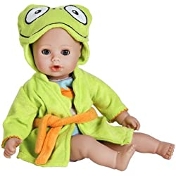 Adora Bathtime Baby - Frog 13 Washable Soft Body Play Doll for Children 12 months up