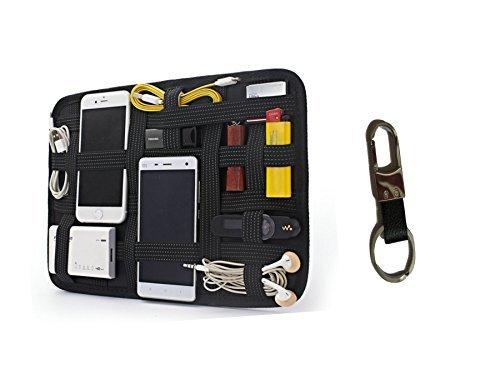 Accessoires Case Plus KFZ Schlüsselanhänger bieten Eine Multi-Funktion Organizer, Um Alle Ihrer Zubehör-USB-Ports, Ladegerät, Handy Zubehör & Kabel ()