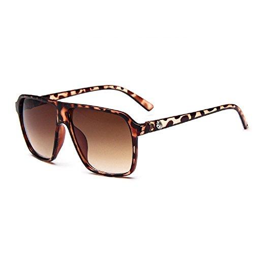O-C da uomo Classico & Fashion WAYFARER occhiali da sole Lenti 55mm di larghezza multicolore