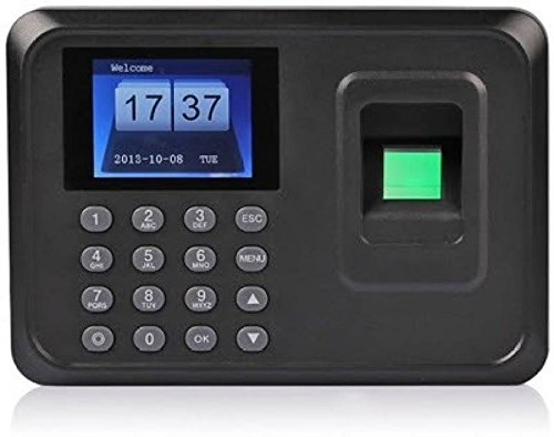 Alfa Mart ™ Biometric Fingerprint Based Time & Attendance System Machine USB Plug & Play