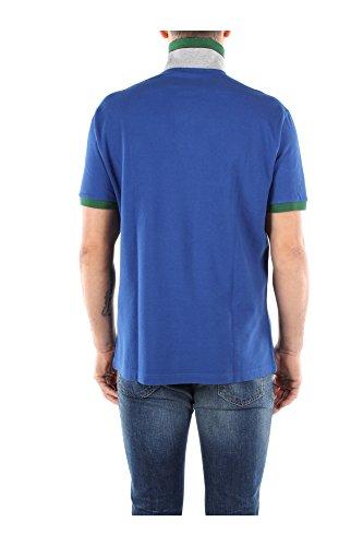 30102284V0037 Fred Perry Polo Homme Coton Bleu Bleu