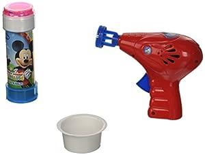 Mickey Mouse- Pistola Bolle, 60 ml (Dulcop 69500060400)
