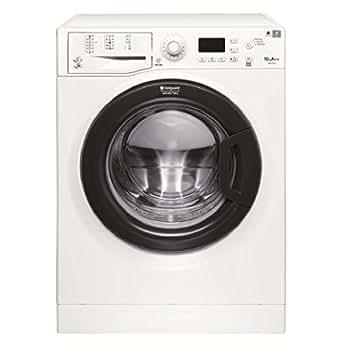 Hotpoint FMG 1043B FR Autonome Charge avant 10kg 1400tr/min A+++ Blanc machine à laver - machines à laver (Autonome, Charge avant, Blanc, Gauche, Acier inoxydable, Noir)