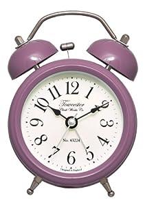 Towcester Clock Works, Sveglia analogica vintage a due campane by Acctim
