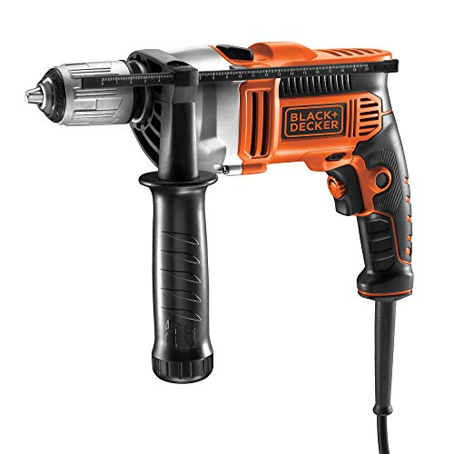 BLACK+DECKER KR805K-QS - Taladro percutor cable 800