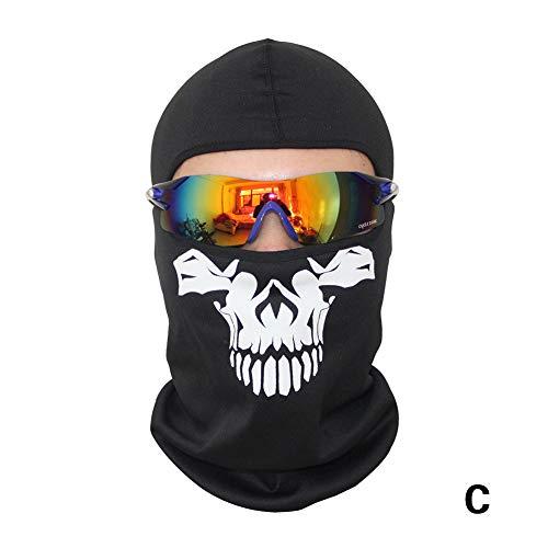 Romdink Winddichte Kopfbedeckung Maske REIT Halbe Gesichtsmaske Outdoor Halsband Bergsteigen Schal Sport Maske