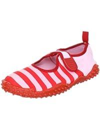 Playshoes Aquaschuhe, Badeschuhe Streifen mit UV-Schutz 174795 Kinder Aqua Schuhe