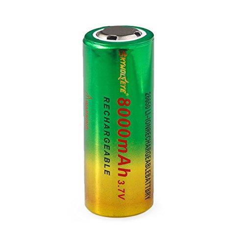 Preisvergleich Produktbild Li-ion battery, HUI.HUI 1pcs 3.7v 8800mAh 18650 Nachladbare Litium-ionen batterie (A)