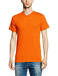 Fruit of the Loom V Neck Brights, T-Shirt Homme