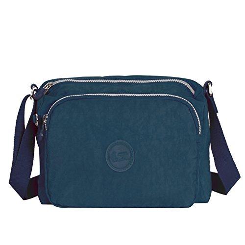 Borsa all'aperto alpinismo/Casual impermeabile borsa a tracolla/ semplice panno di moda-C B