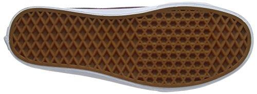 Vans Herren Mn Black Ball Priz Sneakers Rot (Port Royale)