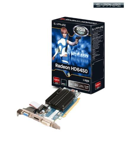 Sapphire - Memoria principal hd 6450 2gb ddr3